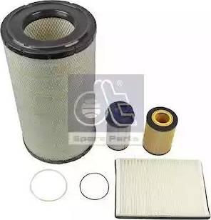 DT Spare Parts 5.94600 - Zestaw filtra intermotor-polska.com