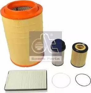 DT Spare Parts 5.94602 - Zestaw filtra intermotor-polska.com