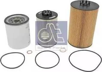DT Spare Parts 6.91604 - Zestaw filtra intermotor-polska.com