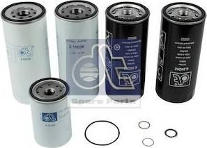 DT Spare Parts 6.91602 - Zestaw filtra intermotor-polska.com