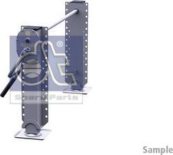 DT Spare Parts 10.98946 - Wspornik, zestaw zaczepu przyczepy intermotor-polska.com
