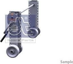 DT Spare Parts 10.98941 - Wspornik, zestaw zaczepu przyczepy intermotor-polska.com