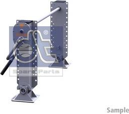 DT Spare Parts 10.98938 - Wspornik, zestaw zaczepu przyczepy intermotor-polska.com