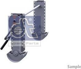 DT Spare Parts 10.98933 - Wspornik, zestaw zaczepu przyczepy intermotor-polska.com