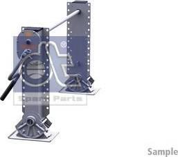 DT Spare Parts 10.98924 - Wspornik, zestaw zaczepu przyczepy intermotor-polska.com