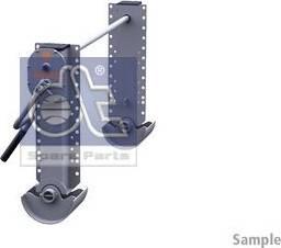 DT Spare Parts 10.98928 - Wspornik, zestaw zaczepu przyczepy intermotor-polska.com