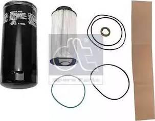 DT Spare Parts 1.34044 - Zestaw filtra intermotor-polska.com