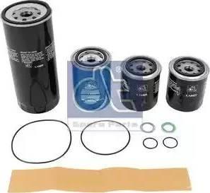 DT Spare Parts 1.34057 - Zestaw filtra intermotor-polska.com