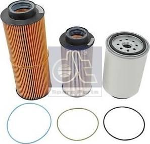 DT Spare Parts 1.34115 - Zestaw filtra intermotor-polska.com
