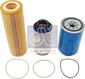 DT Spare Parts 1.34116 - Zestaw filtra intermotor-polska.com
