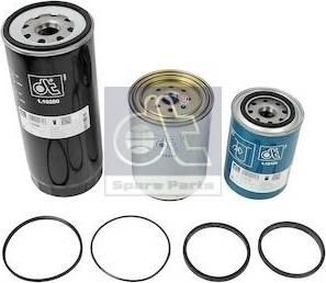 DT Spare Parts 1.34118 - Zestaw filtra intermotor-polska.com