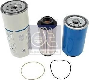 DT Spare Parts 1.34117 - Zestaw filtra intermotor-polska.com