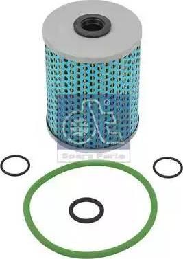 DT Spare Parts 1.31897 - Filtr oleju, retarder intermotor-polska.com