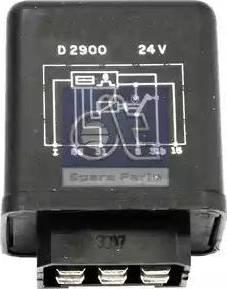 DT Spare Parts 1.21097 - Przekaznik, przerywacz pracy wycieraczek intermotor-polska.com