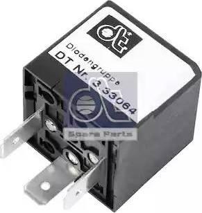 DT Spare Parts 3.33064 - Rezystor szeregowy, układ zapłonowy intermotor-polska.com