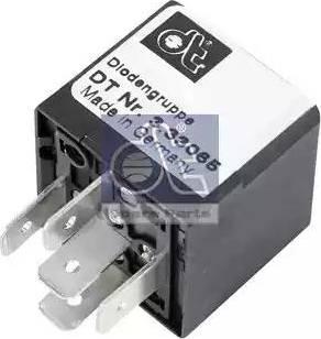 DT Spare Parts 3.33065 - Rezystor szeregowy, układ zapłonowy intermotor-polska.com