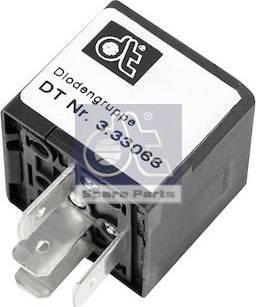 DT Spare Parts 3.33066 - Rezystor szeregowy, układ zapłonowy intermotor-polska.com