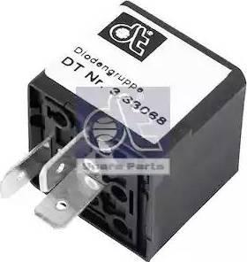 DT Spare Parts 3.33068 - Rezystor szeregowy, układ zapłonowy intermotor-polska.com