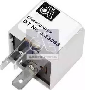 DT Spare Parts 3.33063 - Rezystor szeregowy, układ zapłonowy intermotor-polska.com