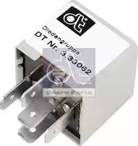 DT Spare Parts 3.33062 - Rezystor szeregowy, układ zapłonowy intermotor-polska.com