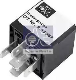 DT Spare Parts 3.33067 - Rezystor szeregowy, układ zapłonowy intermotor-polska.com