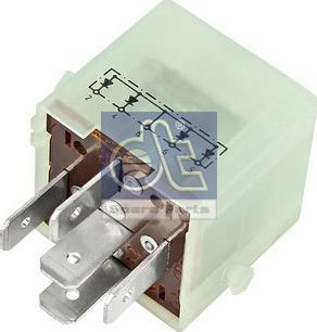 DT Spare Parts 3.33085 - Rezystor szeregowy, układ zapłonowy intermotor-polska.com