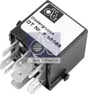 DT Spare Parts 3.33086 - Rezystor szeregowy, układ zapłonowy intermotor-polska.com