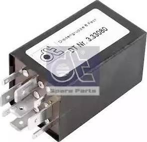 DT Spare Parts 3.33080 - Rezystor szeregowy, układ zapłonowy intermotor-polska.com