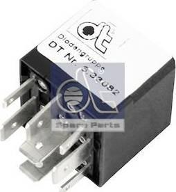 DT Spare Parts 3.33082 - Rezystor szeregowy, układ zapłonowy intermotor-polska.com