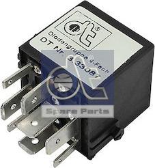 DT Spare Parts 3.33087 - Rezystor szeregowy, układ zapłonowy intermotor-polska.com