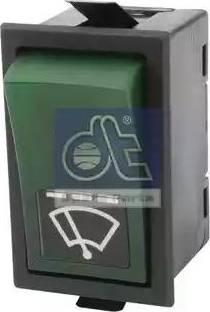 DT Spare Parts 2.25005 - Przełącznik, sterowanie pracą wycieraczek intermotor-polska.com