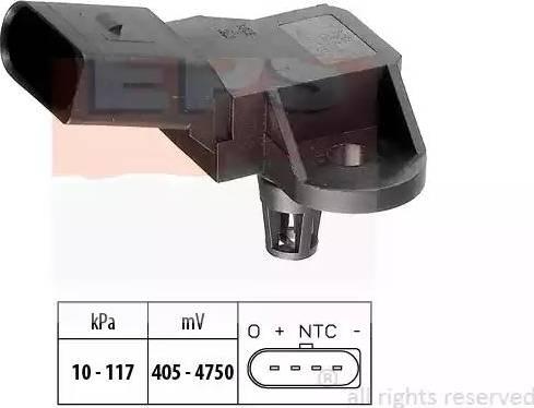 EPS 1.993.090 - Czujnik, ciżnienie spalin intermotor-polska.com