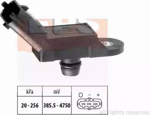 EPS 1.993.055 - Czujnik, ciżnienie spalin intermotor-polska.com