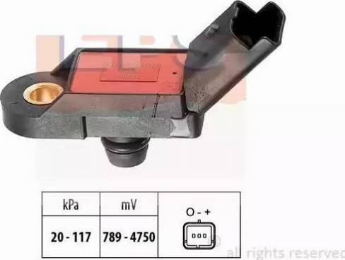 EPS 1.993.056 - Czujnik ciżnienia, wzmacniacz siły hamowania (servo) intermotor-polska.com