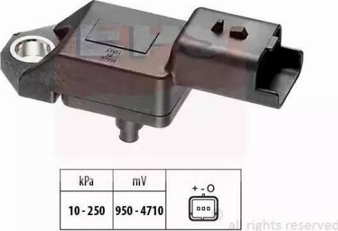 EPS 1.993.034 - Czujnik, ciżnienie spalin intermotor-polska.com