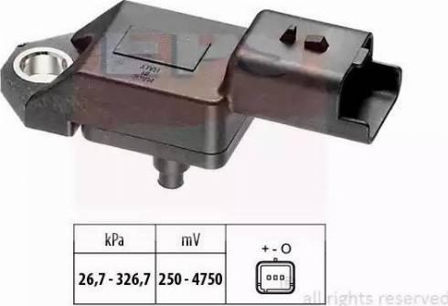 EPS 1.993.136 - Czujnik, ciżnienie spalin intermotor-polska.com