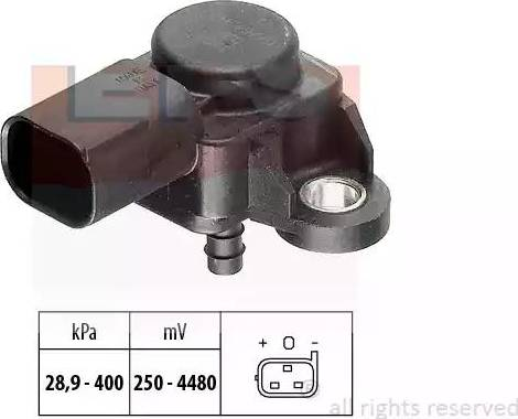 EPS 1.993.175 - Czujnik, ciżnienie spalin intermotor-polska.com