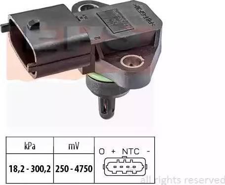 EPS 1.993.178 - Czujnik, ciżnienie spalin intermotor-polska.com