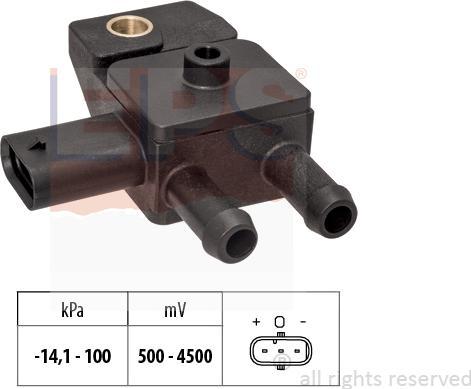 EPS 1.993.306 - Czujnik, ciżnienie spalin intermotor-polska.com
