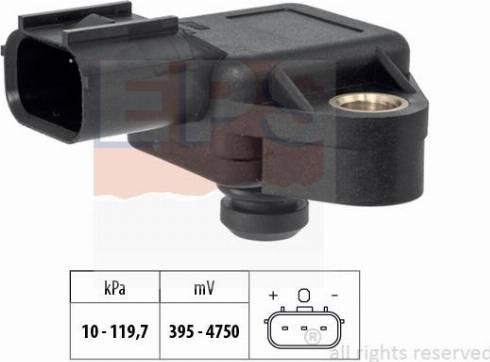 EPS 1.993.383 - Czujnik ciżnienia, wzmacniacz siły hamowania (servo) intermotor-polska.com