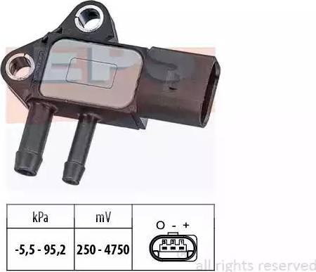 EPS 1.993.297 - Czujnik, ciżnienie spalin intermotor-polska.com