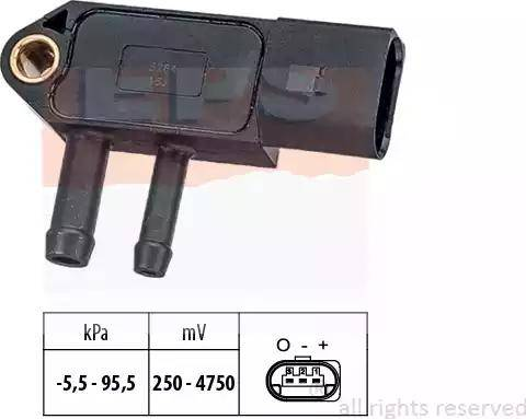 EPS 1.993.264 - Czujnik, ciżnienie spalin intermotor-polska.com