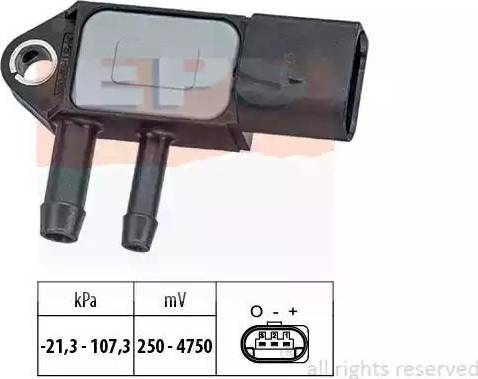 EPS 1.993.265 - Czujnik, ciżnienie spalin intermotor-polska.com