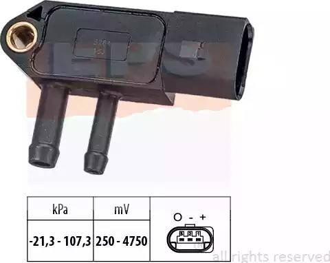 EPS 1.993.266 - Czujnik, ciżnienie spalin intermotor-polska.com