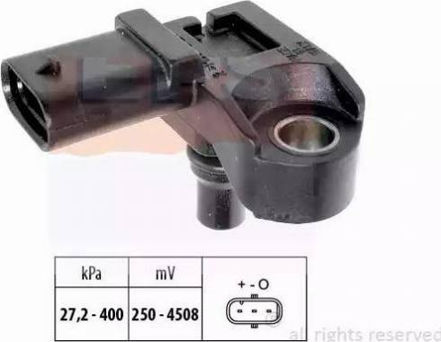 EPS 1.993.210 - Czujnik, ciżnienie spalin intermotor-polska.com