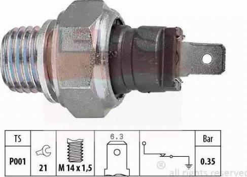 EPS 1.800.006 - Włącznik ciżnieniowy oleju intermotor-polska.com