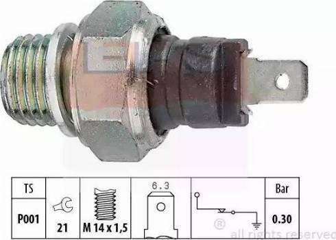 EPS 1.800.000 - Włącznik ciżnieniowy oleju intermotor-polska.com