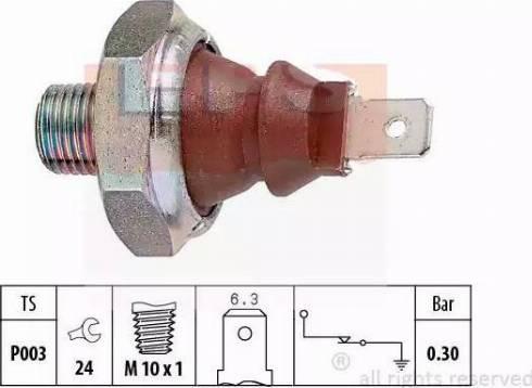 EPS 1.800.007 - Włącznik ciżnieniowy oleju intermotor-polska.com
