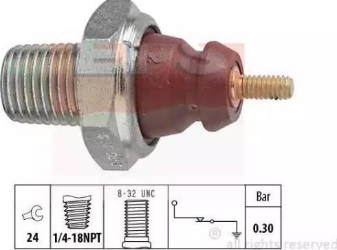 EPS 1.800.011 - Włącznik ciżnieniowy oleju intermotor-polska.com