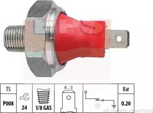 EPS 1.800.035 - Włącznik ciżnieniowy oleju intermotor-polska.com